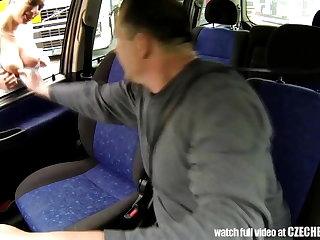 CZECH Streetwalker - Real WHORE Succeed in Paid for Coition put paid to Trucks