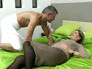 Granny, Hairy, Mature, Milf, Old, Young,
