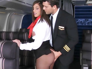 Pilot seduced stewardess to have sexual intercourse in airplane
