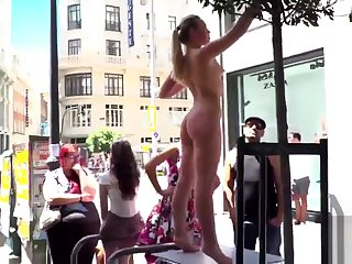 Selvaggia Anal Fisted and DP'd with respect to Public