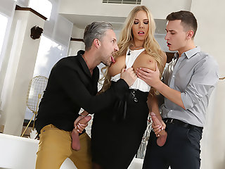Anal, Big pussy, Big tits, Blonde, Blowjob, Doggystyle, Double, Fucking, Hardcore, Heels, Long hair, Pussy, Riding, Squirt, Stockings, Tits,