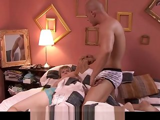 Muscle tramp wakes her crow's-foot rough word-of-mouth sex
