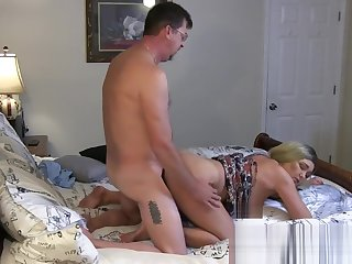 Both Slutty StepSisters Get Fucked