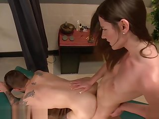 shemale massage increased by fuck