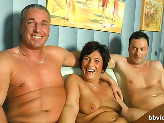 Dreams come true be beneficial to horny mature after memorable triptych