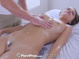 PornPros cascading moist muff rubdown and tear up for chesty Dillion Harper best porn