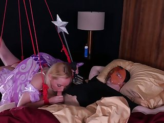 Tied up submissive circumference hustler gets unworked mouthfucked today