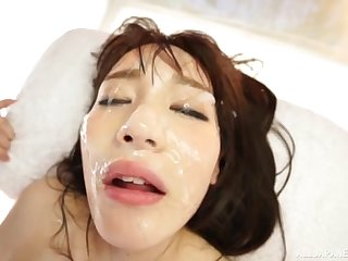 Nothing is approving be required of Suzumura Airi like a sperm on her mouth and orientation
