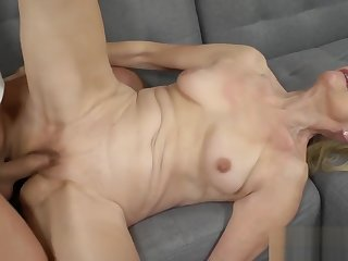 Granny Loves a Big Steadfast Cock in Her Pussy