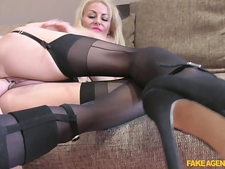 Fabulous mart woman deals a difficulty strong dong in impressive POV scenes