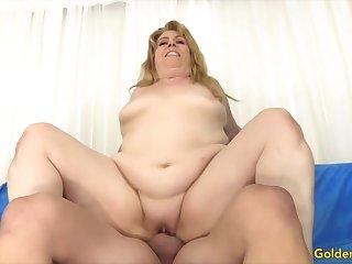 Blue-eyed Slut - Horny Doyenne Cowgirls Compilation Part 6