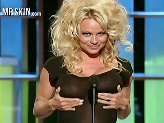 Gigantic all over a catch universe busty blonde sexpot Pamela Anderson