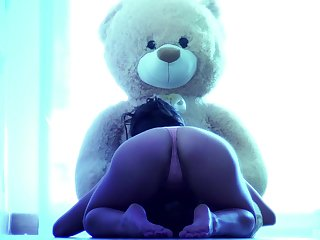 Epigrammatic tits cutie Ena Attractive gives head with an increment of rides a large dick