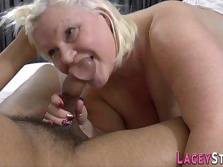 Shove around Gran Lacey Starr Sucks Chunky Black Cock - Lacey starr