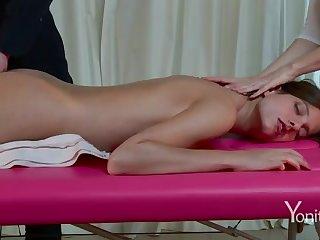 Voluptuous massage on webcam
